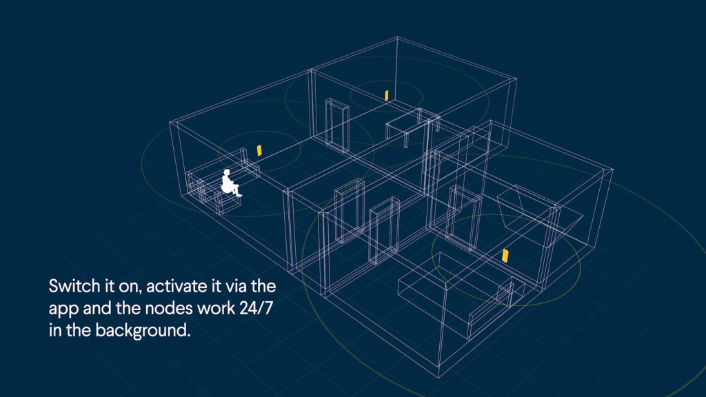 Switch it on, activate it via the app and the nodes work 24/7 in the background